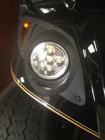 LED Headlights for Golf Carts